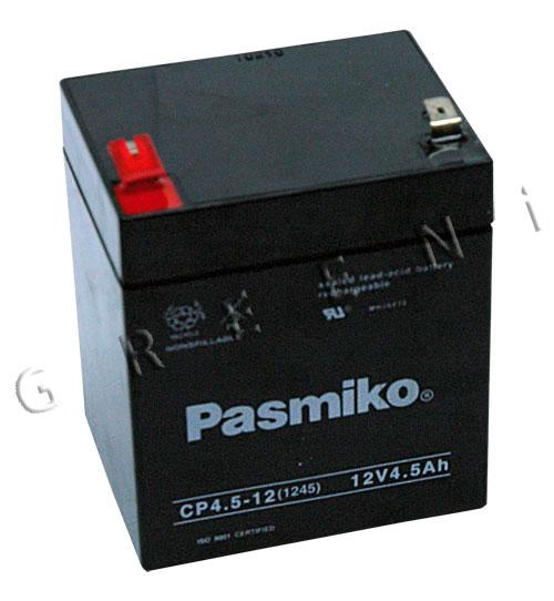 Starterbatterie 12V 4,5Ah passend für SABO